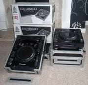 PIONEER CDJ-2000MK3 & DJM 800
