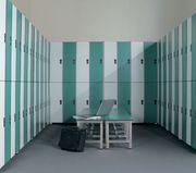 Шкафы для спортивных раздевалок. Локеры и ячейки хранения. Спецмебель