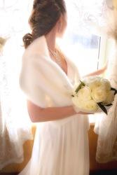 Свадебная шубка и накидка