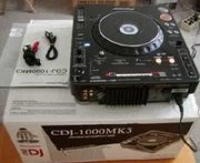 2x PIONEER CDJ-1000MK3 & 1x DJM-800 MIXER DJ ПАКЕТ