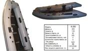 Килевая моторная лодка к-350
