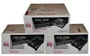 Pioneer DJM-2000 и 2 х CDJ-2000 Bundle