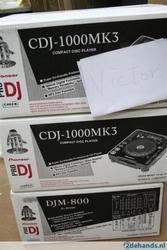 2 х PIONEER CDJ 1000 MK3 DJM 800 + CDJ-Paket унд перелет + Дело