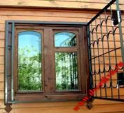 Оконные решетки сварные и кованные. Решетчатые двери.