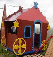 Игровые уличные домики для детей Москва и область