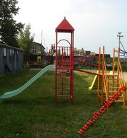 Игровые и спортивные конструкции для детей,  игровые комплексы.