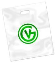 Полиэтиленовые или бумажные пакеты с фирменной символикой