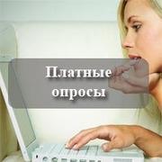 Участие в оплачиваемых соцопросах через интернет.