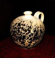 Глиняная посуда под старину.
