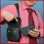Продажа оргинальных сумок-кобур - идельный подарок мужчине