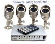 Установка и монтаж систем видеонаблюдения.