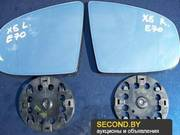 Продам зеркальные элементы для BMW X5 E70, 71