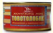 Рыбные консервы собственного производства из Керчи