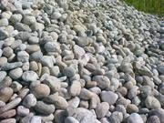 Речной камень галька,  валун,  песчаник для ландшафта и отделки.