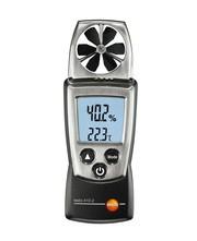 Аренда: анемометр с сенсором влажности и температуры testo 410-2