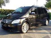 Mercedes Benz Viano 2011 Черный цвет Исполнительный и полный вариант./