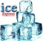 Доставка фраппе и кускового льда  по Москве
