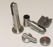 Фурнитура для перегородок Hpl сантехнических туалетных,  сталь и hpl