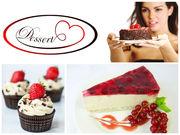 Маффины,  капкейки,  донатcы,  берлинеры,  торты от Десерты