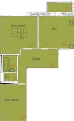 2-ком квартира в новостройке