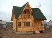 Дом из бруса 7х7,  проект
