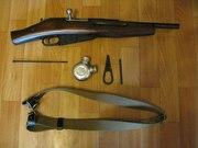 Охолощенный обрез винтовки Мосина (ММГ СХП)