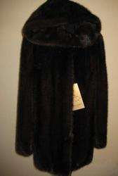 Куртка норковая цельная Греция длина 80см. р. от 40 по 46