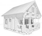 Срубы,  строительство деревянных домов и бань