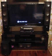 Акустическая система CANTON с аудиоусилителем  Yamaha RX-V663 (HTR-616