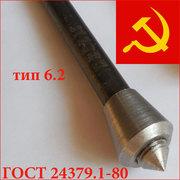 Болты фундаментные с коническим концом тип 6.2 ,  6.3 ГОСТ 24379.1-2012
