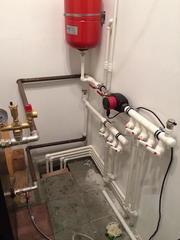 Производим полный комплекс работ  по монтажу систем отопления