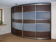 Радиусные шкафы-купе на заказ от «Стильные Интерьеры»