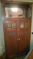 антикварный посудный шкаф (м о д е р н)