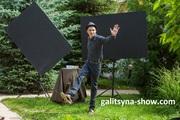 Танцующий художник- составные картины в Москве Танцующий художник- со