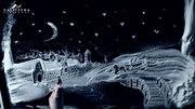 Рисунки светом и снежная анимация в Москве