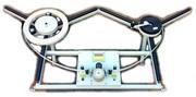 Устройство для перемотки и подсчета длины мебельной кромки Кромкомер-1