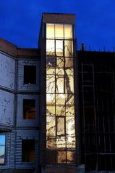 Перфорированные фасадные панели,  Москва
