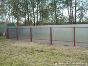 Забор из профнастила оцинкованного в Москве