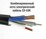 Опто-электрический кабель СЛ-ОЭК-ОКМБ-03НУ-4Е2нг-LS+2х1, 0