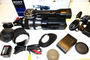 Купить новый Sony Handycam NEX-VG20-1080p HD видеокамера с объективом