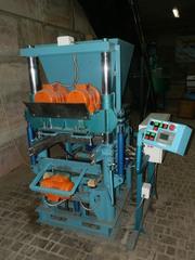 Вибропресс ПВ-12 для производства тротуарной плитки