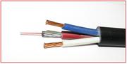 Опто-электрический кабель  ОЭК-ОКМБ-03НУ-4е2нг-LS+2х2, 5