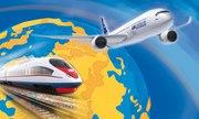 Заказ,  бронирование и продажа билетов на самолет,  поезд и автобус