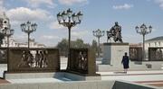 Высокопрочный фактурный бетон под гранит для памятников,  стелл