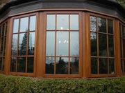 Окна и двери деревянные, Зимние сады и  Витражи.Клееный брус.