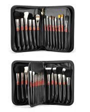 Профессиональный набор кистей 29 штук для макияжа из натурального ворс