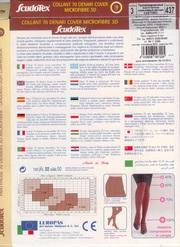 Колготки из микрофибры  производства Италия