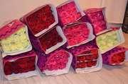 розы и тюльпаны оптом,  доставка 1 день