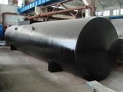 Резервуары горизонтальные стальные    для воды,   топлива