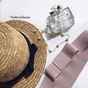 Соломенные шляпы ручной работы